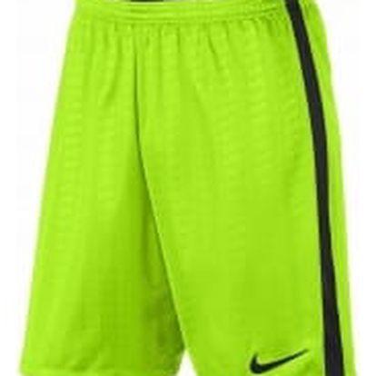 Pánské kraťasy Nike M NK ACDMY SHORT JAQ K L ELECTRIC GREEN/BLACK/BLACK/BLA