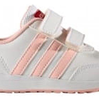 Dětské boty adidas VS SWITCH 2.0 CMF INF 27 FTWWHT/HAZCOR/SHORED