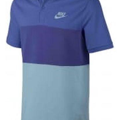 Pánská polokošile Nike M NSW POLO PQ MATCHUP CLRBLK L COMET BLUE/DEEP NIGHT/MICA BLU