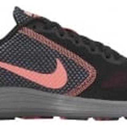 Dámské tenisky Nike WMNS REVOLUTION 3 40 BLACK/LAVA GLOW-HOT PUNCH-COOL