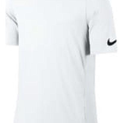 Pánské tričko Nike M NK BRTHE TOP SS ELITE L WHITE/WHITE/WHITE/BLACK