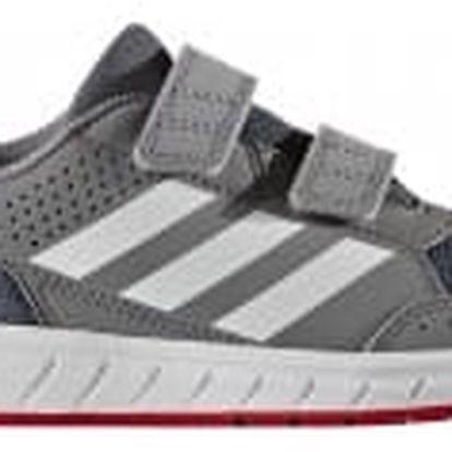 Dětské boty adidas AltaSport CF K 33 GREY/FTWWHT/ONIX