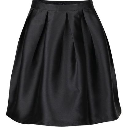 Černá lesklá sukně TALLY WEiJL