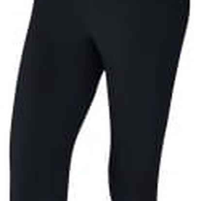 Dámské legíny Nike W NK PWR CPRI TI POLY XL BLACK/BLACK/COOL GREY