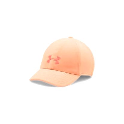 Dámská čepice Under Armour Twisted Renegade OS Playful Peach/London Orange
