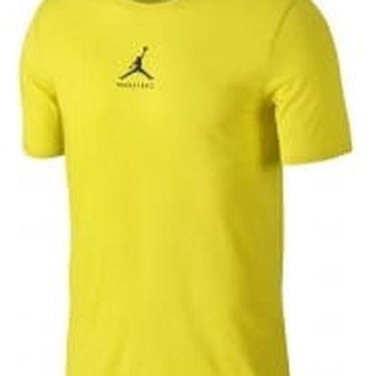 Pánské tričko Jordan M JBSK DF 23/7 BBALL JMPMN TEE XL ELECTROLIME/ARMORY NAVY