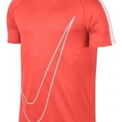 Pánské tričko Nike M NK DRY ACDMY TOP SS GX M HYPER ORANGE/WHITE/WHITE