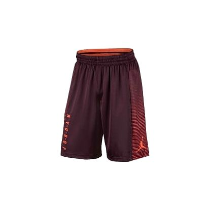 Pánské kraťasy Jordan M J BSK SHORT GAME L NIGHT MAROON/MAX ORANGE