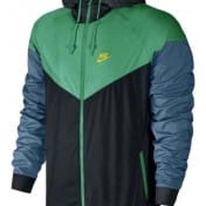 Pánská bunda Nike M NSW WR JKT XL BLACK/STADIUM GREEN/ELECTROLIM