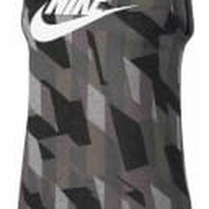 Dámské tílko Nike W NSW TANK MSCL SKYSCRAPER L BLACK/WHITE