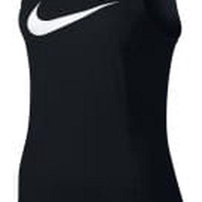Dámské tílko Nike W NK BRTHE TOP SL ELITE S BLACK/BLACK/BLACK/WHITE