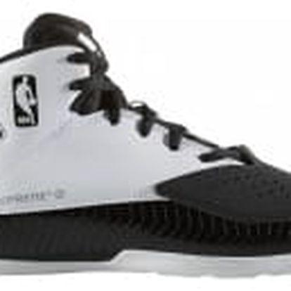 Dětské basketbalové boty adidas Nxt Lvl Spd V NBA K 40 CBLACK/FTWWHT/SILVMT