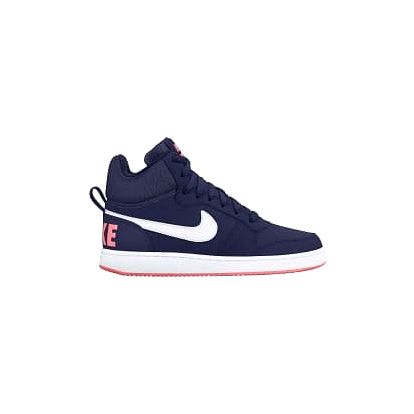 Dámské tenisky Nike WMNS COURT BOROUGH MID 40,5 BINARY BLUE/WHITE-LAVA GLOW