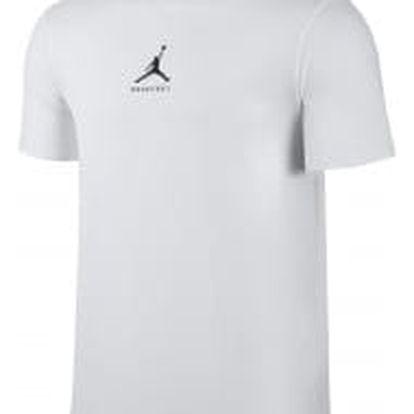 Pánské tričko Jordan M JBSK DF 23/7 BBALL JMPMN TEE L WHITE/BLACK