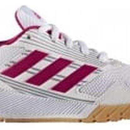 Dětské boty adidas AltaRun K 40 FTWWHT/BOPINK/MIDGRE