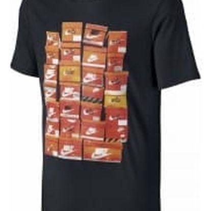 Pánské tričko Nike M NSW TEE VINTAGE SHOEBOX XL BLACK/BLACK