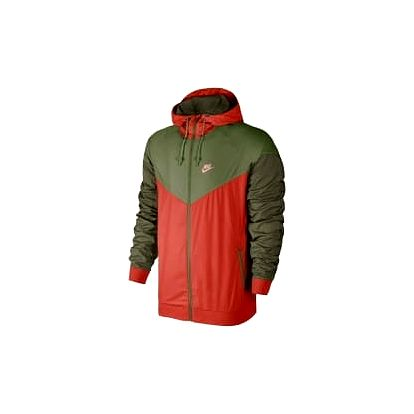 Pánská bunda Nike M NSW WR JKT M MAX ORANGE/PALM GREEN/BRIGHT M