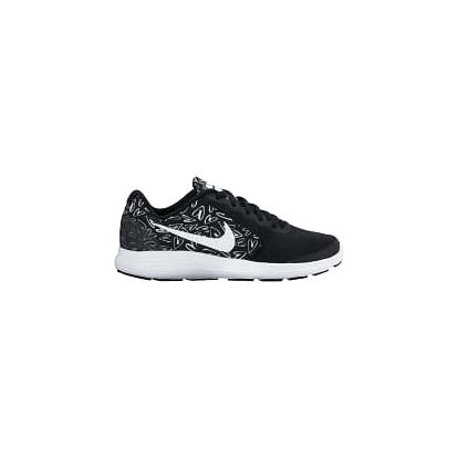 Nike revolution 3 print (gs) 38 BLACK/WHITE-LAVA GLOW