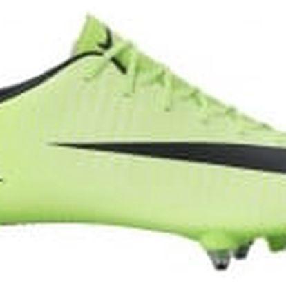 Pánské kopačky Nike MERCURIAL VICTORY VI SG 44 ELECTRIC GREEN/BLACK-FLASH LIM
