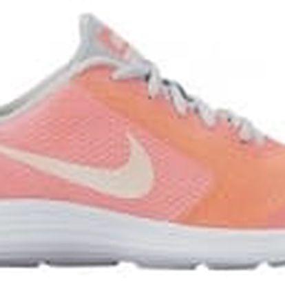Dětské tenisky Nike REVOLUTION 3 SE (GS) 38,5 LAVA GLOW/WHITE-PURE PLATINUM