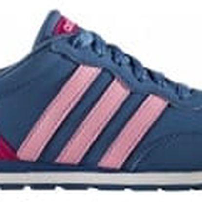 Dětské boty adidas V JOG K 39 CORBLU/LTPINK/BOPINK