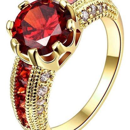 Dámský prsten luxusního vzhledu - mix barev