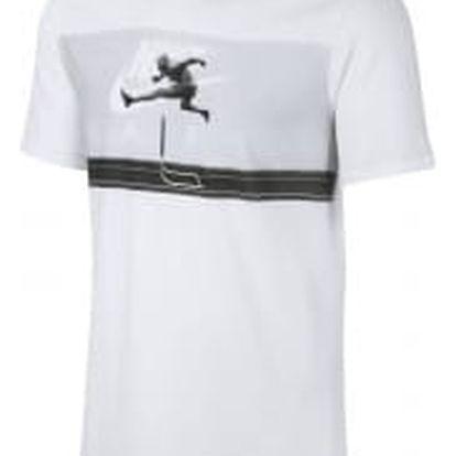 Pánské tričko Nike M NSW TEE AIR HYBRID PHOTO M WHITE