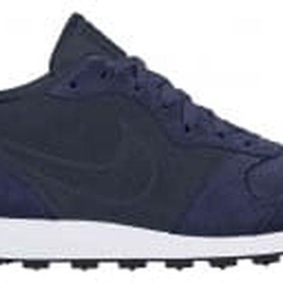 Pánské tenisky Nike MD RUNNER 2 LEATHER PREM 42 BINARY BLUE/OBSIDIAN-WHITE