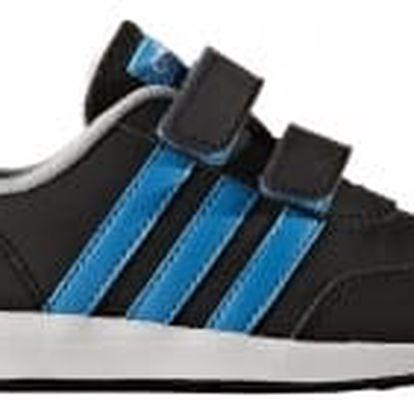 Dětské boty adidas VS SWITCH 2.0 CMF INF 27 CBLACK/SOLBLU/CLONIX