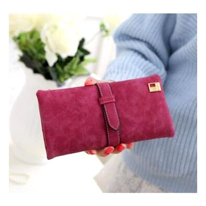Dámská peněženka s přezkou - 6 barev