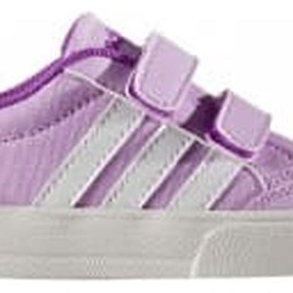 Dětské boty adidas VS SET CMF INF 27 LGTORC/FTWWHT/SHOPUR