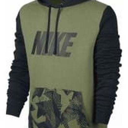 Pánská mikina Nike M NSW HOODIE PO FLC SP L PALM GREEN/BLACK