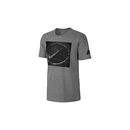 Pánské tričko Nike M NSW TEE ASPHALT PHOTO L DK GREY HEATHER