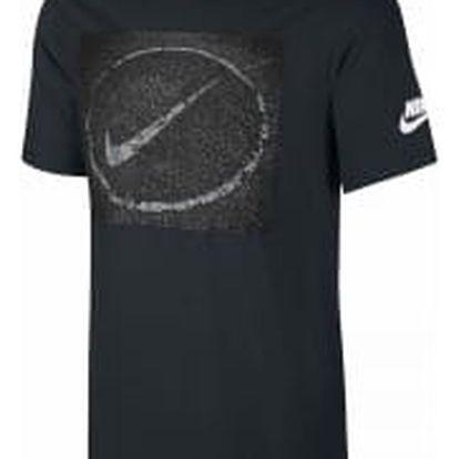 Pánské tričko Nike M NSW TEE ASPHALT PHOTO XL BLACK
