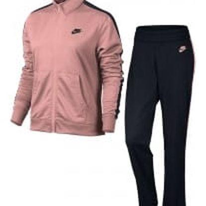 W nsw trk suit pk oh M BRIGHT MELON/BLACK/BLACK/BLACK