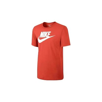 Pánské tričko Nike M NSW TEE ICON FUTURA L MAX ORANGE/WHITE