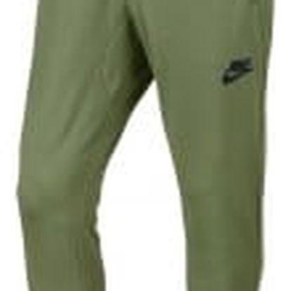 Pánské kalhoty Nike M NSW AV15 JGGR FLC L PALM GREEN/BLACK/BLACK/BLACK