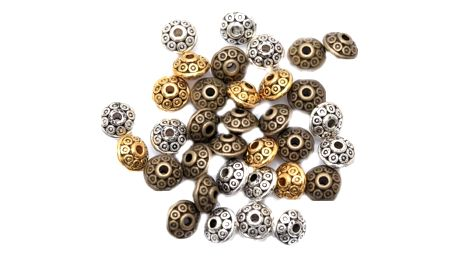 Mezikorálky na výrobu šperků - 3 barvy