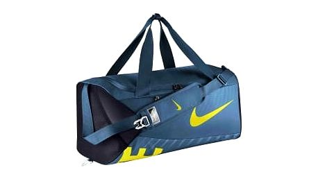 Taška Nike NK ALPHA M DUFF MISC SMOKEY BLUE/BLACK/ELECTROLIME