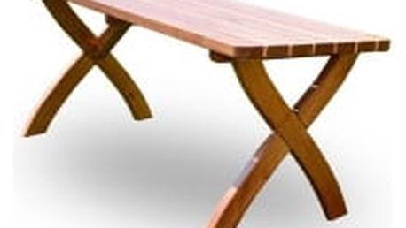 Zahradní dřevěný stůl Strong stůl