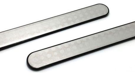 Kvalitní pilníky na nehty z nerezové oceli - 2 ks