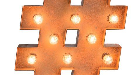 Dekorativní osvětlení Really Nice Things Hashtag - doprava zdarma!