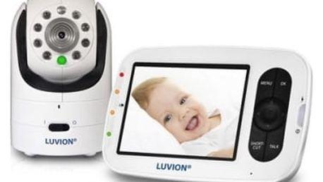 Dětská elektronická chůva Luvion GRAND ELITE 2 bílá