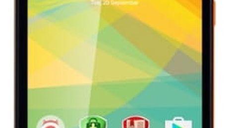 Mobilní telefon Prestigio Wize NK3 Dual SIM (PSP3527DUOORANGE) oranžový