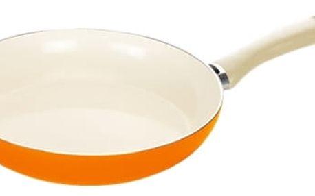 Pánev ecoPRESTO Signal ø 26 cm, oranžová