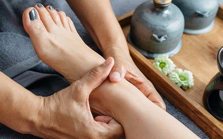 Půlhodinová masáž chodidel s arnikou