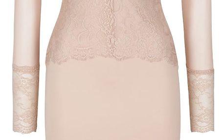 Tělové přiléhavé šaty s dlouhým rukávem AX Paris