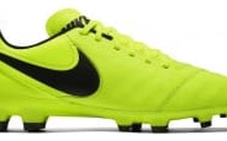 Pánské kopačky Nike TIEMPO GENIO II LEATHER FG   819213-707   Žlutá   44,5