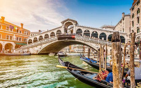 Poznávací zájezd - Benátky, Verona, Lago di Garda, Florencie a Řím