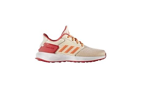 Dětské boty adidas RapidaRun K 39 FTWWHT/EASORA/LINEN